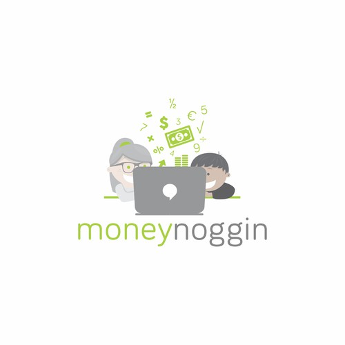 Logo creation website for financial education for children and youth.