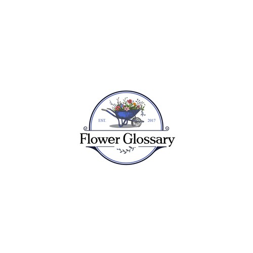 logo for flower site