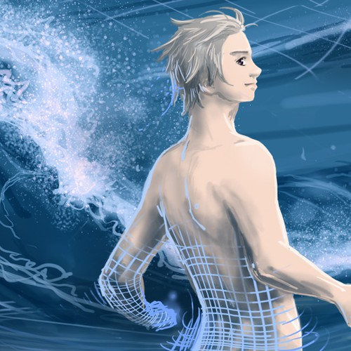 Beautiful splash illustration for Sirius Games