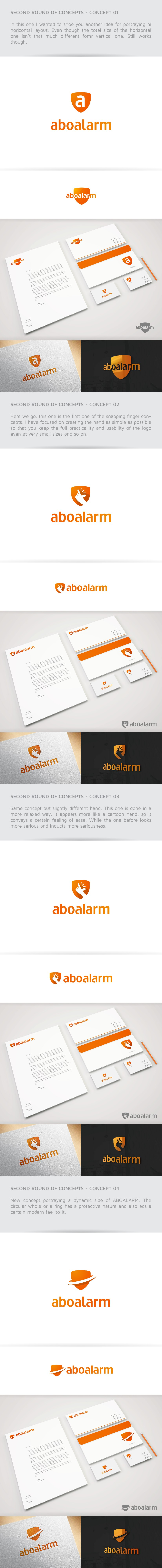 aboalarm needs a new simple and timeless LOGO!