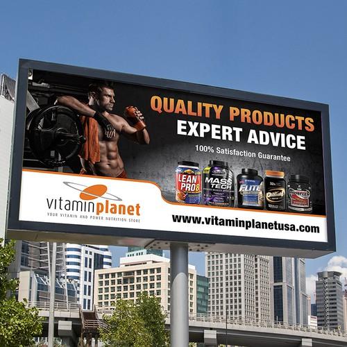 Vitamin Store Billboard