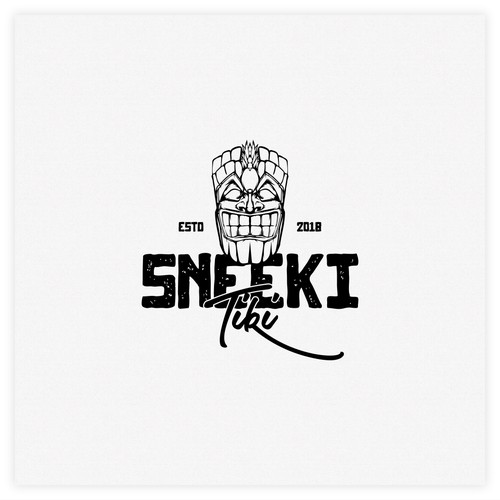 Sneeki tiki logo