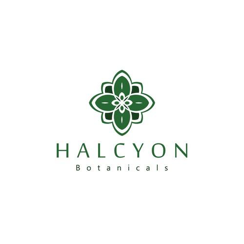 HALCYON Botanicals - Logo Concept