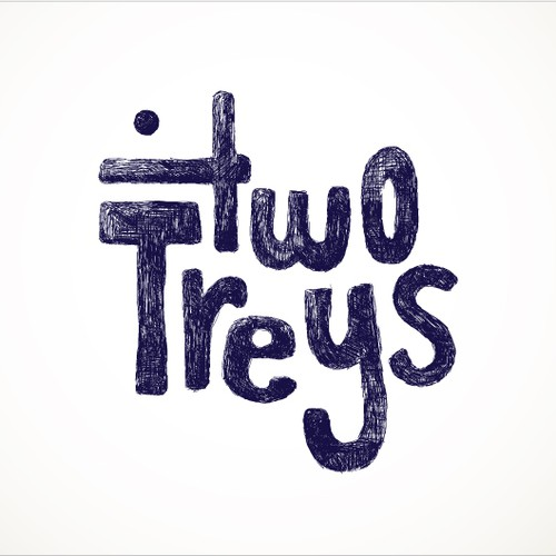 "The ""Two Treys"" (or ""2Treys"") need an EPIC logo for their soon to be EPIC band."