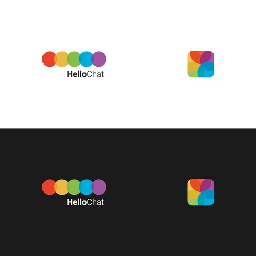 HelloChat Logo + Icon