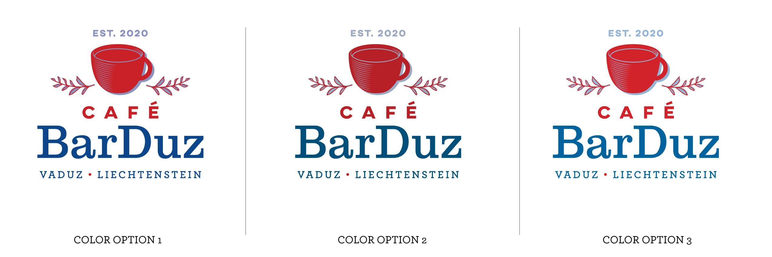 Gestalte ein Logo für ein Vintage - Café in Vaduz.