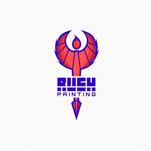 rush painting
