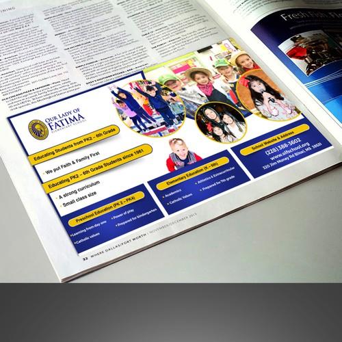Half Page Magazine Design