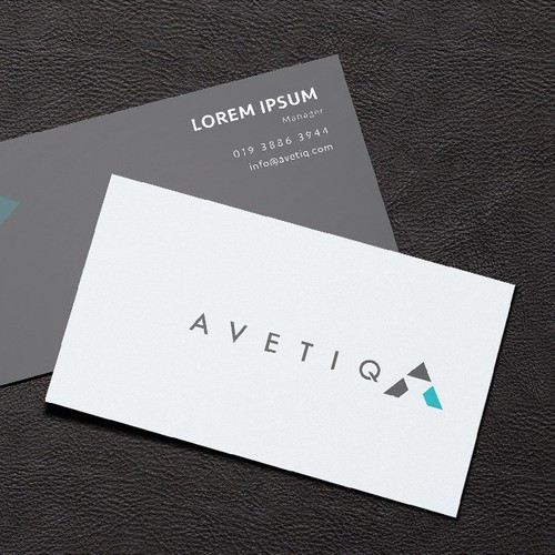 High tech logo for AVETIQ
