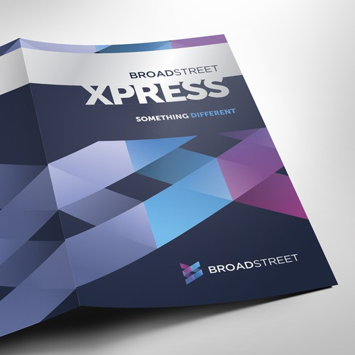 Brochure design for a new software