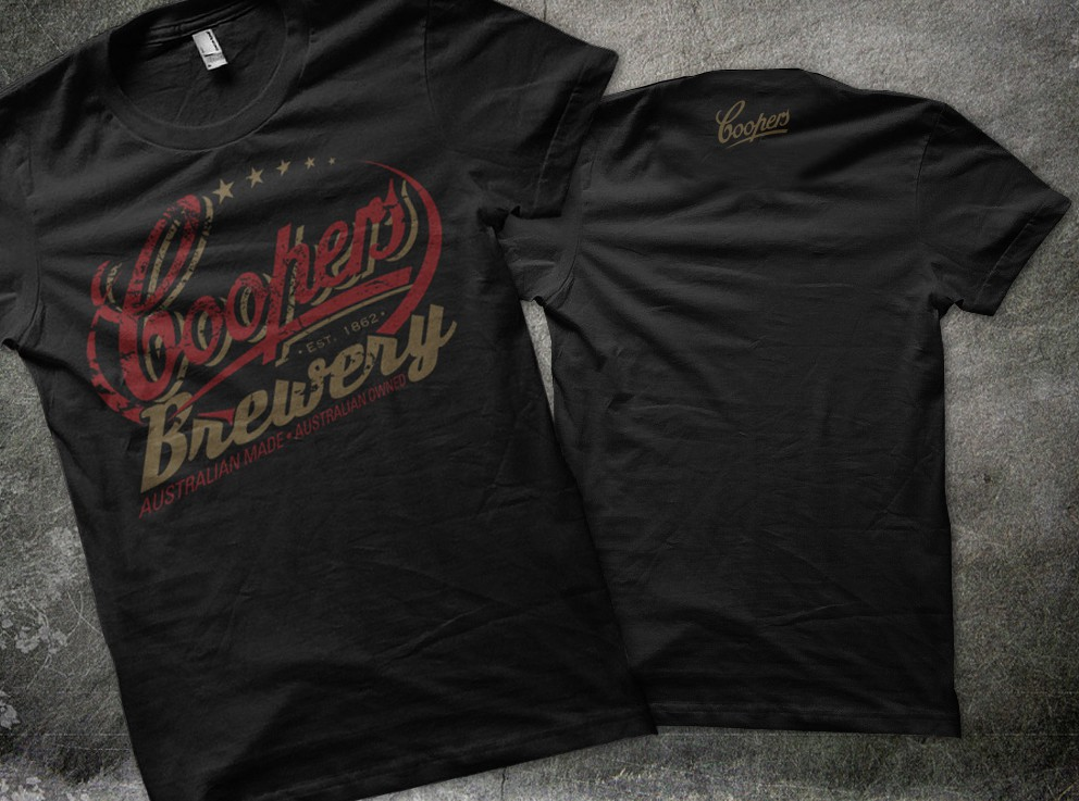 Help COOPERS BREWERY with a new t-shirt design