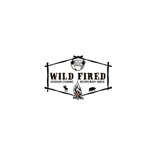 Logo design for outdoor cooking.