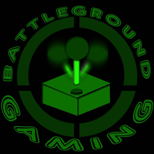 Battleground gaming logo design