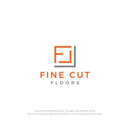 Logo design for timber flooring business
