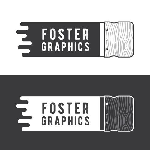 Foster Graphics Logo Concept