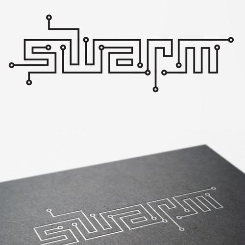 Logo concept for Swarm