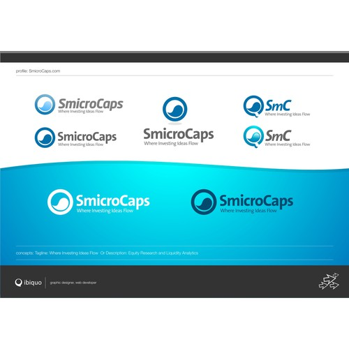 SmicroCaps - Logo design