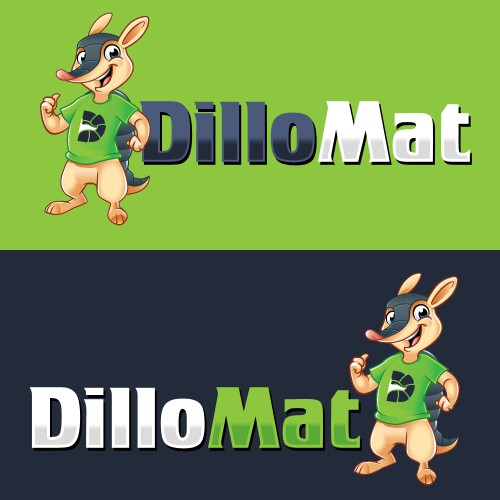Create awesome Armadillo character for my Dillomat business because you rock!