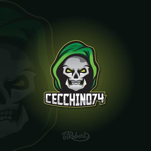 Cecchino74 logo design