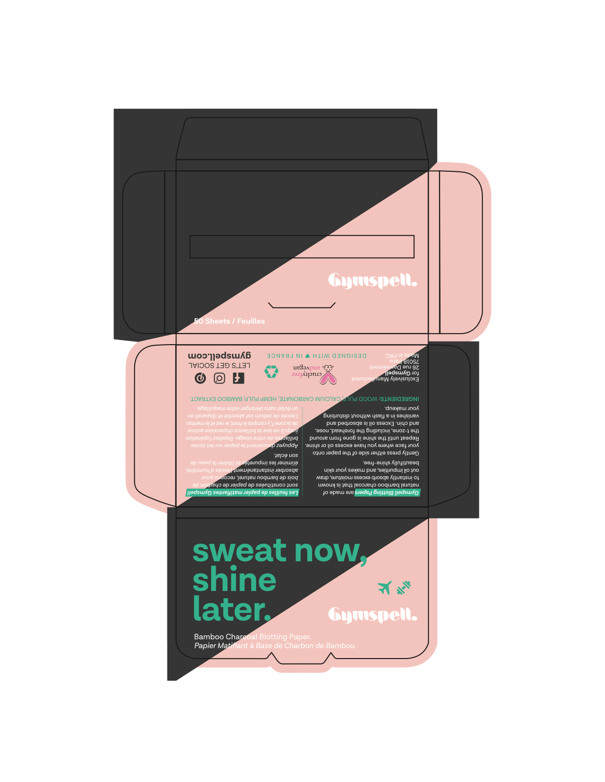 Gymspell Bamboo Charcoal packaging