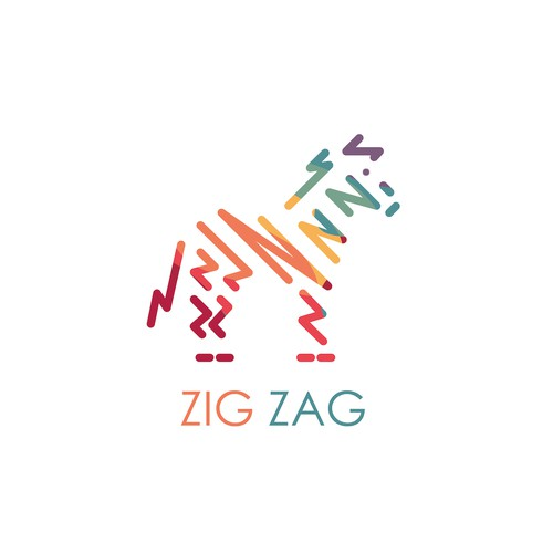 Logo for ZIG ZAG, a new social video meme app