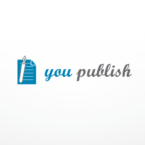 Cooles Logo für revolutionäre, datengetriebene Selfpublishing Plattform