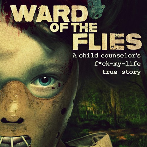 "Humor Book Series Cover for ""Ward of the Flies"""