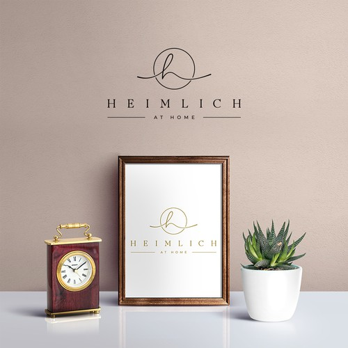 Logo Design Heimlich at Home