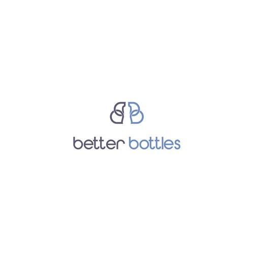 Beautiful bottle logo
