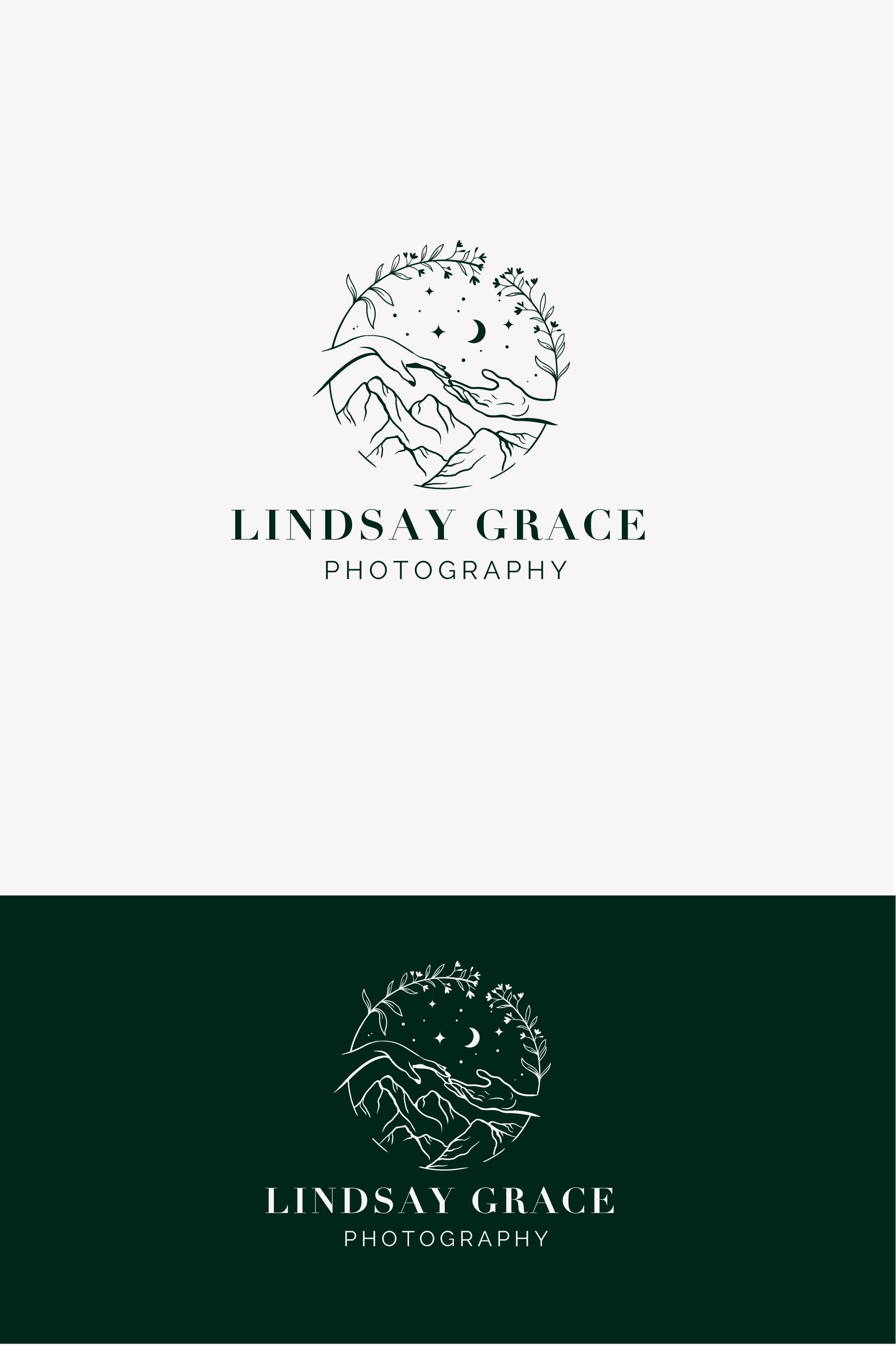 Modern adventurous logo for photography business that appeals to couples