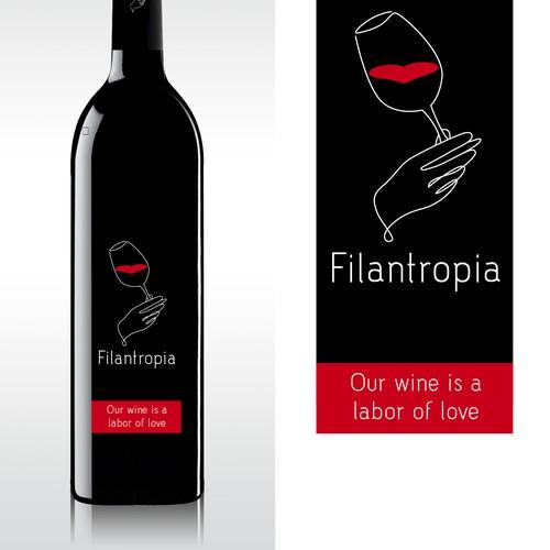 Wine Identity for Philanthropy Wine Co.