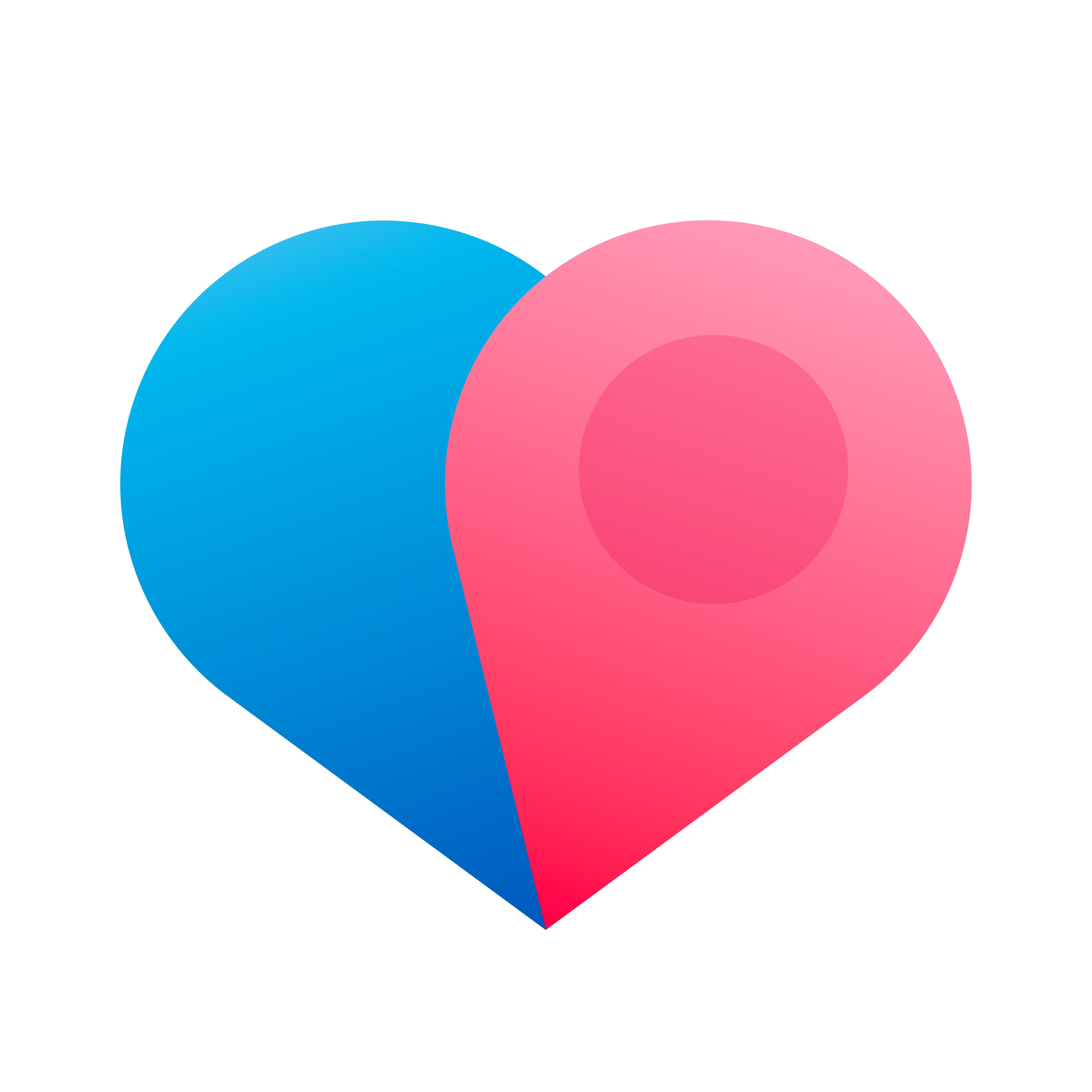 iOS/Android app icon for a new dating app Dater.com