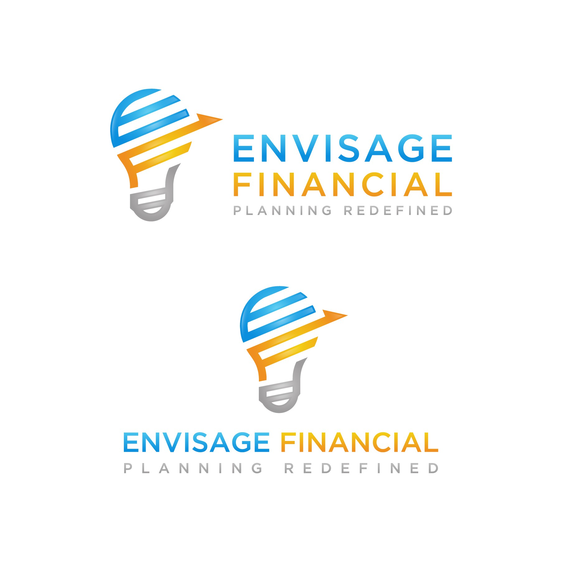Logo for a financial planning company
