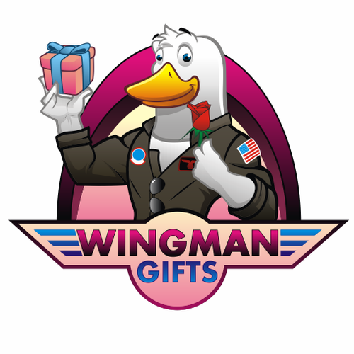 "Design a logo for ""Wingman Gifts"""