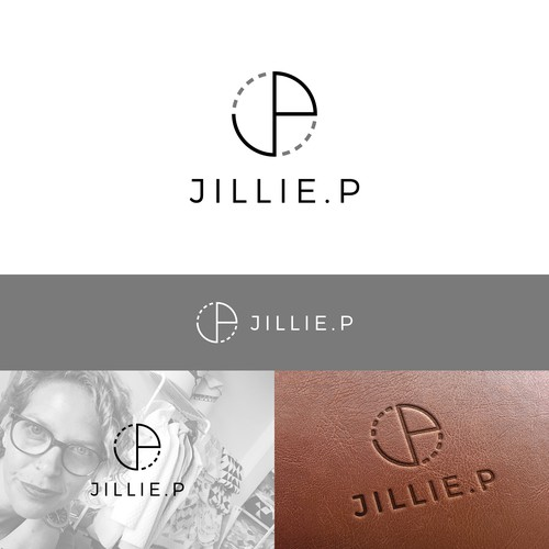 Monogram logo for JILLIE.P