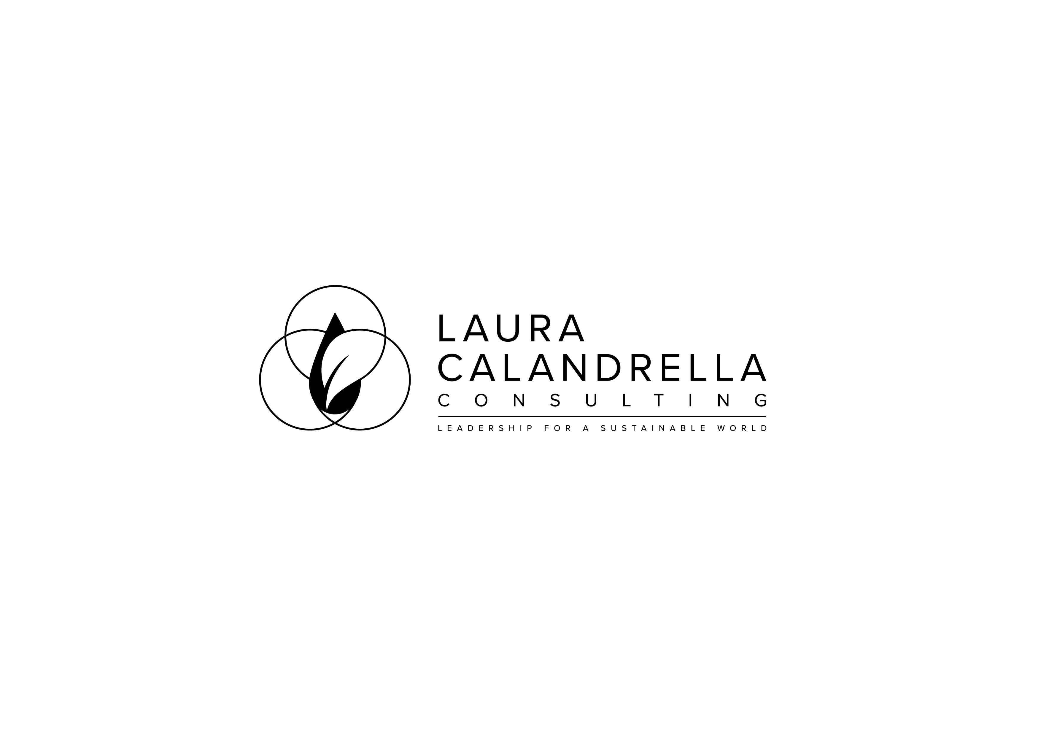 Design a luxury logo with high nature / sustainability vibes for a consultant