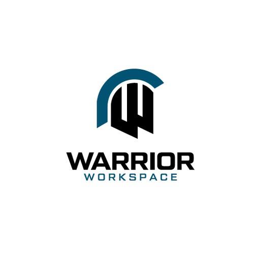 """Logo design for """"Warrior Workspace"""""""
