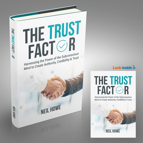 Book Cover Design for The Trust Factor by Neil Howe