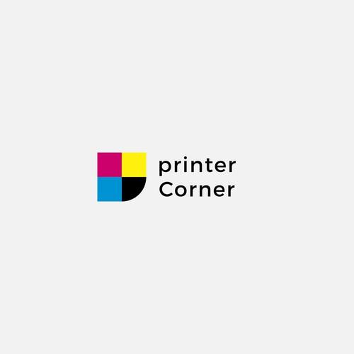 Logo for PRINTER CORNER