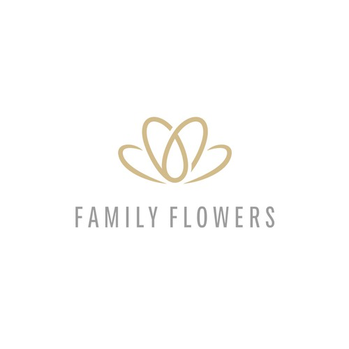 Iconic floral logo with a heart in the right place