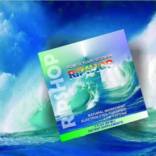 Packaging design - Surf drink