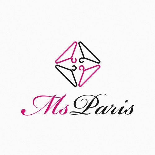 Create a luxurious and fashionable logo for Ms Paris