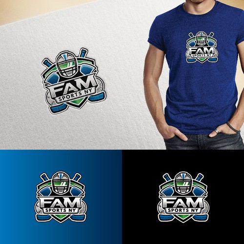 """FaM SPORTS NY"" Logo Design Winner"