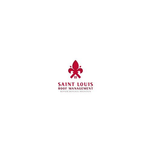 Logo for roof repair company