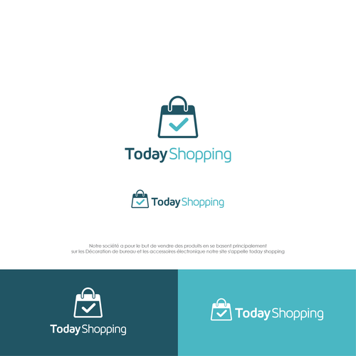 SImple and Bold Logo for today shopping