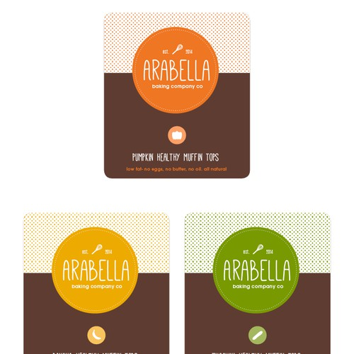New food product to launch. Creative label needed