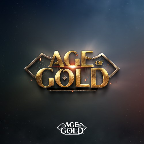 Logo design of the Age of Gold book series