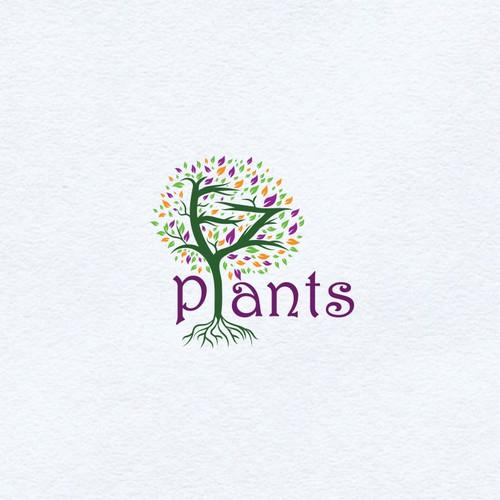 Classy logo concept for EZ PLANTS