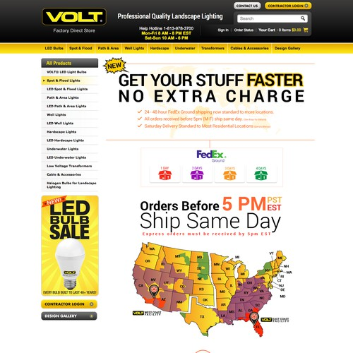 Shipping Details Page