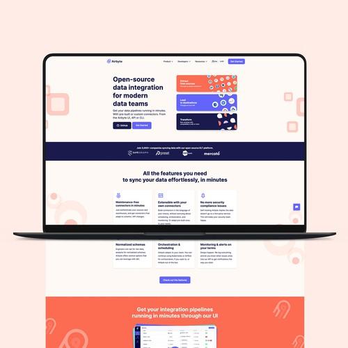 Airbyte Webflow Design